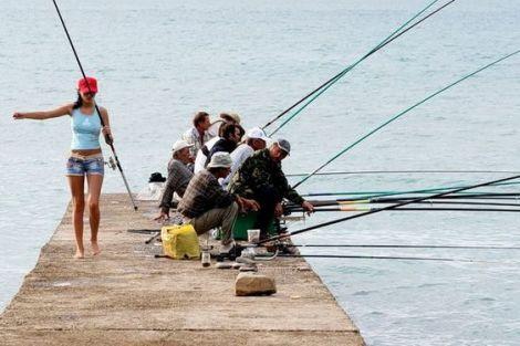 Проститутки на рыбалке